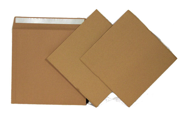 10 High Quality 625 Micron Brown Board 12
