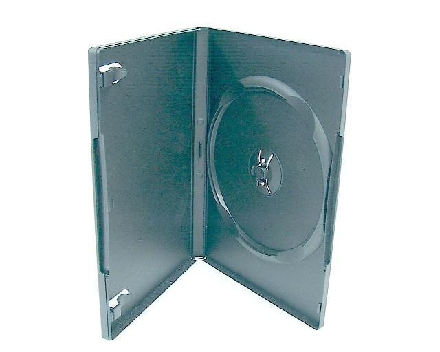 100 Standard Single Black DVD Case