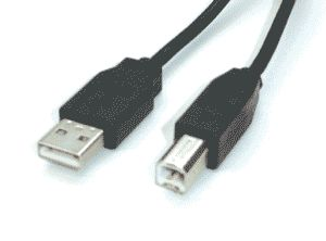 3 Metre USB 2.0 Cable  A to B  for Printers & Scanners
