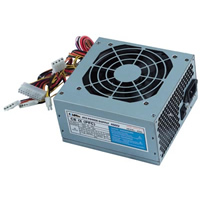480 Watt Grey Low Noise ATX PSU PFC 12cm Fan SATA