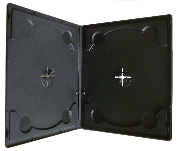 7mm Double Half DVD Cases ( Pack of 20 )