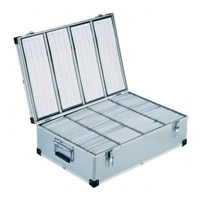 800 Disc Aluminium DJ Style Case by Neo Media