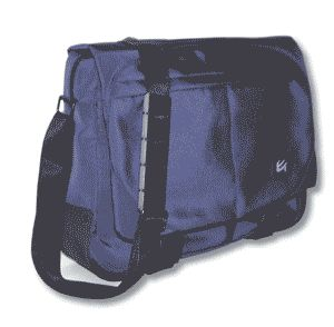 Case Gear: Messenger Style Shoulder Pack - Blue