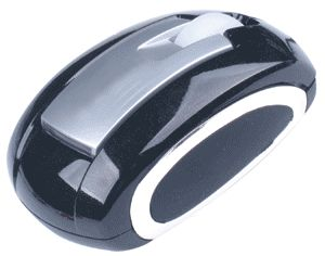 Computer Gear: Black 3 Button Optical Scroll Wheel Mouse USB & PS/2