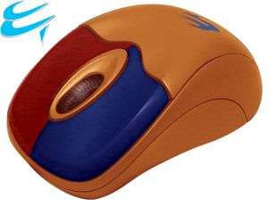 Computer Gear Mini Optical Wheel Mouse USB & PS/2  Colour Coded