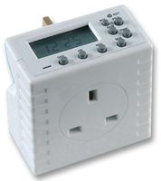 Powerlink Compact Digital 13 amp Mains Electronic Timer