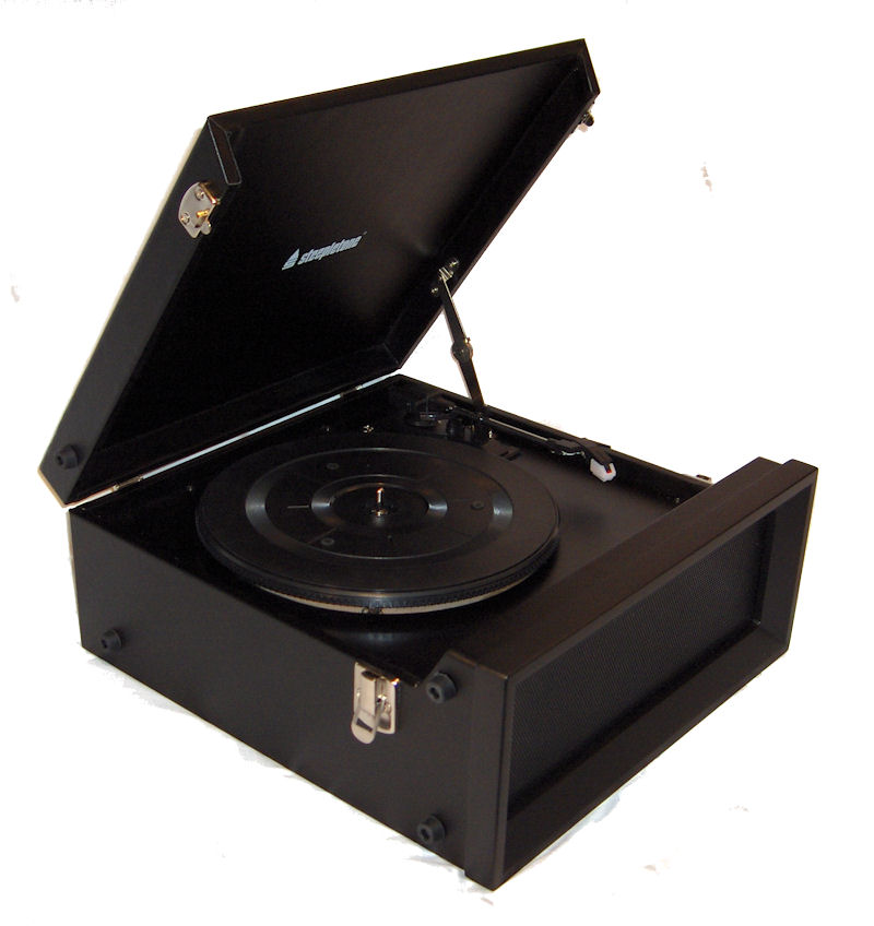 Steepletone Srp1r 11 70 S Style Record Player With Radio