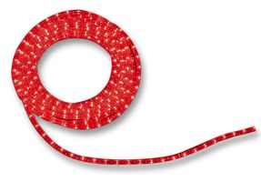 6 Metre Flexilight Ropelight Static Red
