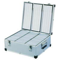 630 Disc Aluminium DJ Style Case by Neo Media