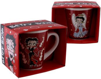 Betty Boop- Angel to Devil Design - Coffee Mug