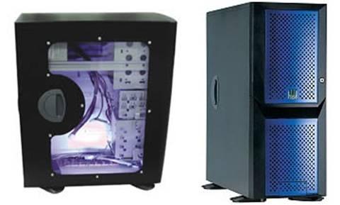 Compucase 6920 Window ATX Super - Midi Tower / Mini Server Case 550 Watt PSU